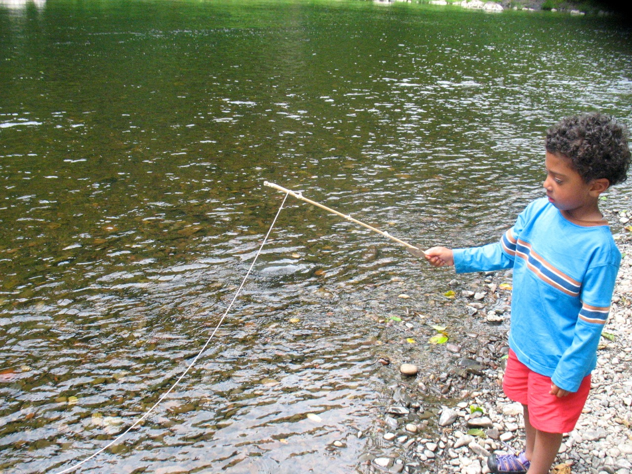 Food and people cook with what you have for Nehalem river fishing